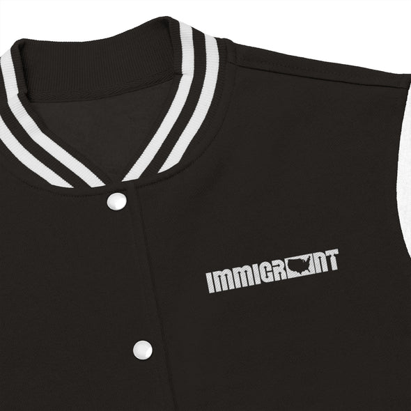 Women's IA Varsity Jacket-Immigrant Apparel