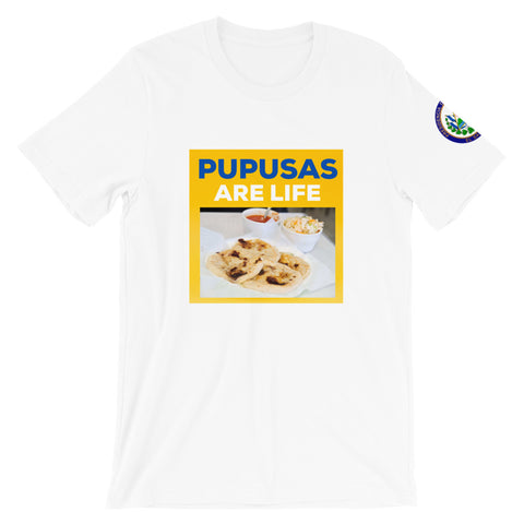 Pupusas Are Life Short-Sleeve Men's T-Shirt