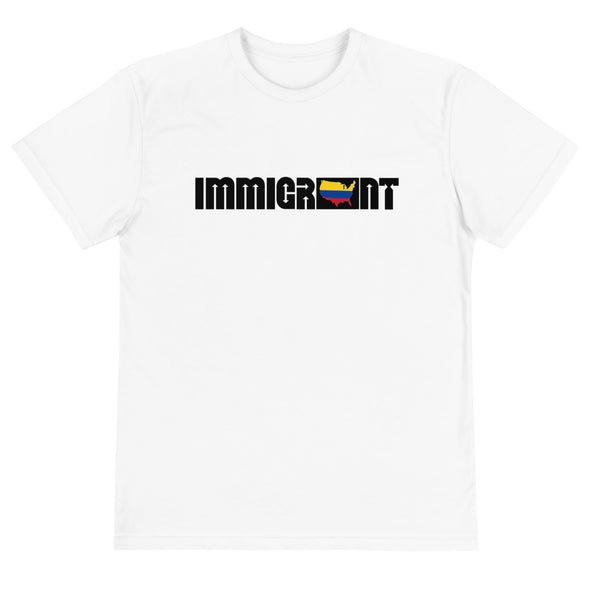 Colombia Immigrant Unisex T-Shirt-Immigrant Apparel