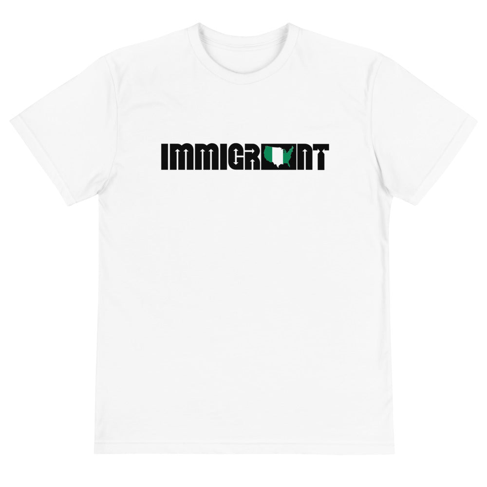 Nigeria Immigrant Unisex T-Shirt