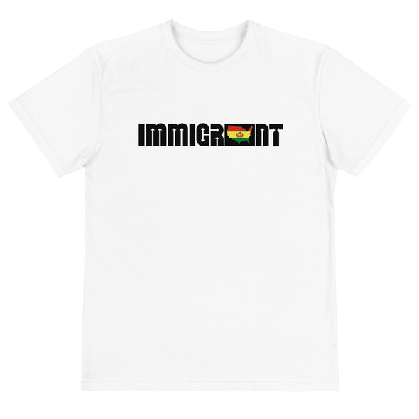 Bolivia Immigrant Unisex T-Shirt-Immigrant Apparel