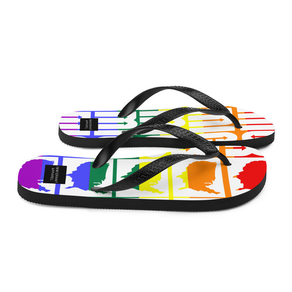 IA Pride Flip-Flops-Immigrant Apparel