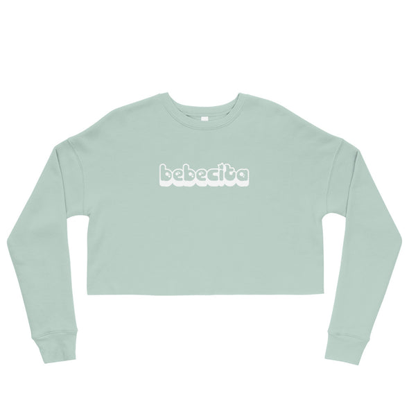 Crop Bebecita Sweatshirt-Immigrant Apparel