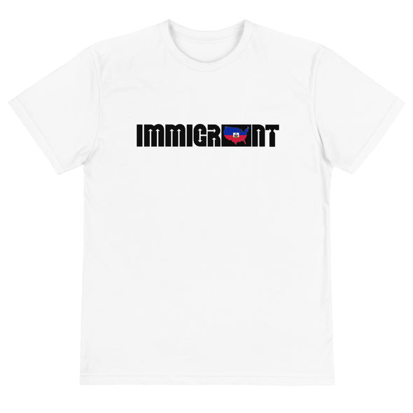 Haiti Immigrant Unisex T-Shirt-Immigrant Apparel