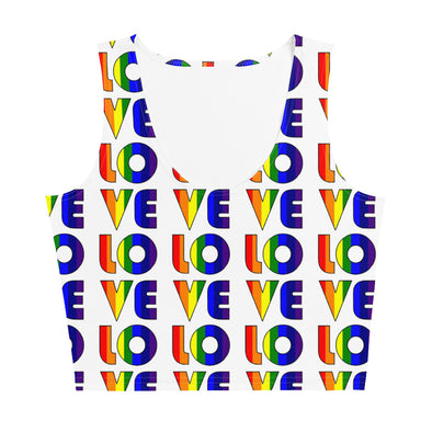 LOVE Crop Top-Immigrant Apparel