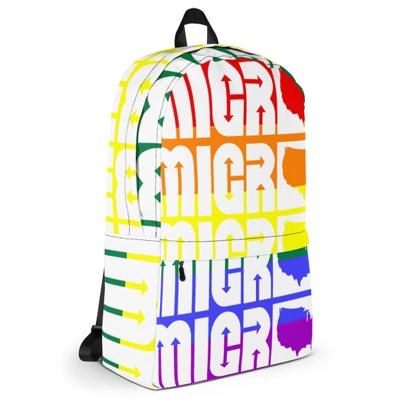 Gay Pride Backpack-Immigrant Apparel