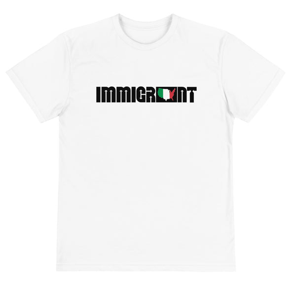 Italy Immigrant Unisex T-Shirt-Immigrant Apparel