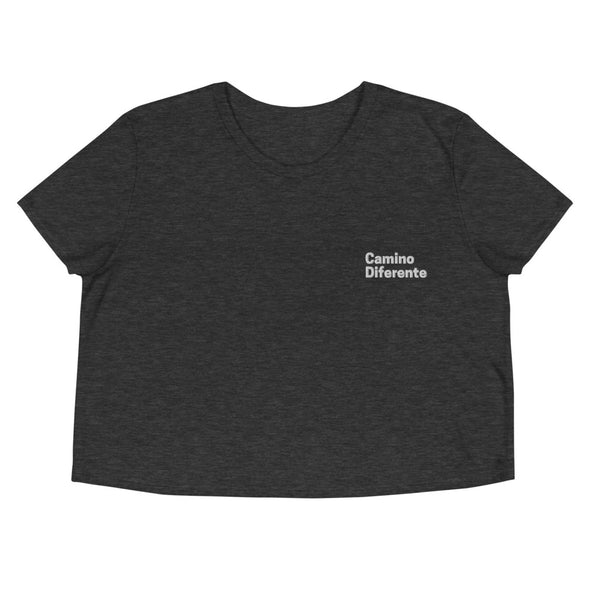 Camino Diferente Crop Tee-Immigrant Apparel