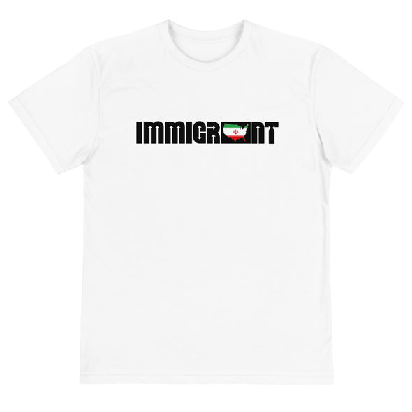 Iran Immigrant Unisex T-Shirt-Immigrant Apparel