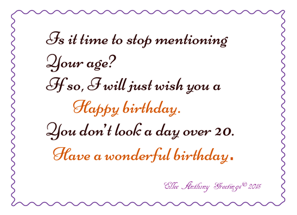 bd0003  A wonderful Birthday    Sentiment