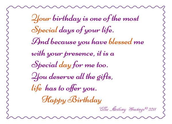bd0004  Your Special day   Sentiment