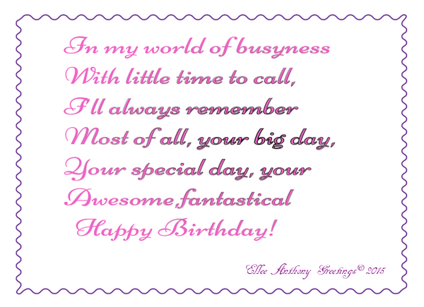 bd0007  Happy  Awesome Birthday      Sentiment