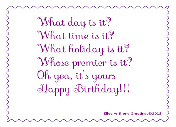 bd0008 Your day, Birthday   Sentiment