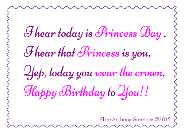c0009   Princess Birthday    Sentiment