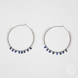 Filigree Hoops in Silver