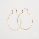 Forged Hoops in Brass