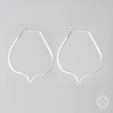 Pi Earrings - Lotus