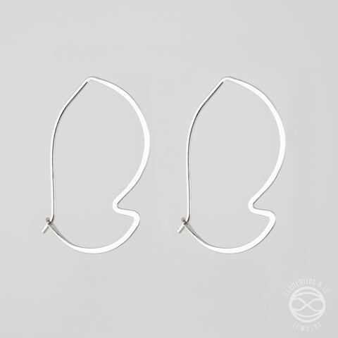 Pi Earrings - Leaf