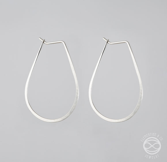Pi Earrings - Drop