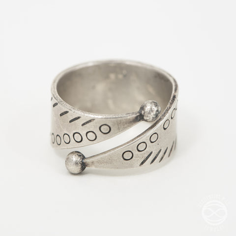 Souk Ring in Silver