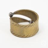 Souk Ring in Brass