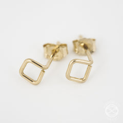 Shape Studs in Gold