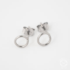 Shape Studs in Silver