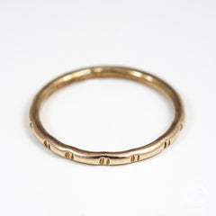 Brass Stacking Rings