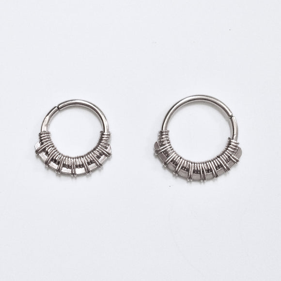 Sundara Septum Ring- Silver