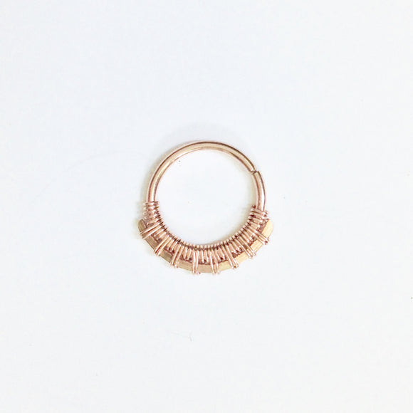 Sundara Septum Ring- Gold