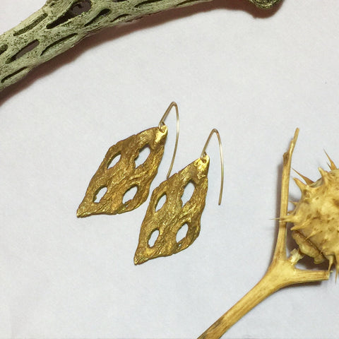 Cholla Cactus Cast Earrings