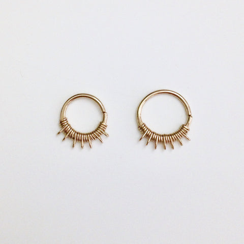 Lalita Septum Ring- Gold