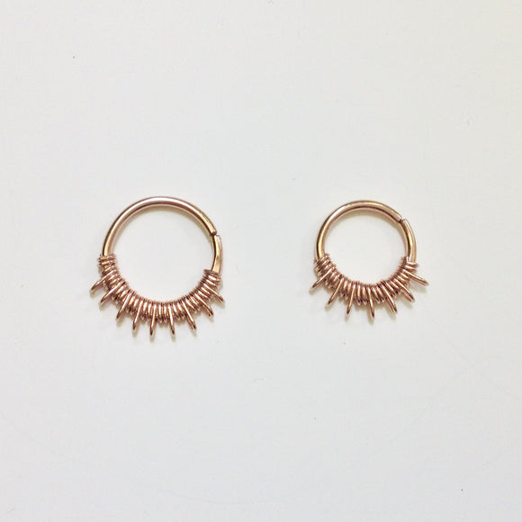Lalita Septum Ring- Rose Gold