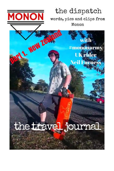 the travel journal - #mononarmy rider Neil Furness