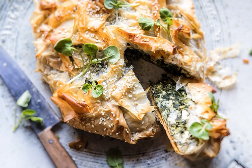 Simple Spanakopita