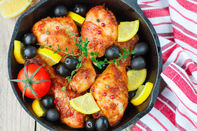 Paleo Chicken with Kalamata Figs and Olives