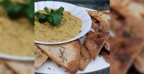 Spiced Red Lentil Hummus