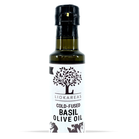 Cold Fused Basil Olive Oil