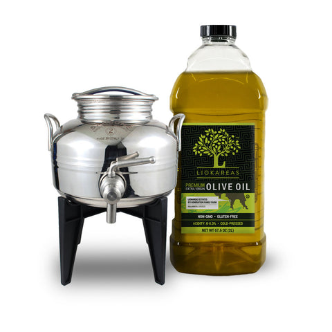 Organic Greek Extra Virgin Olive Oil - 2L