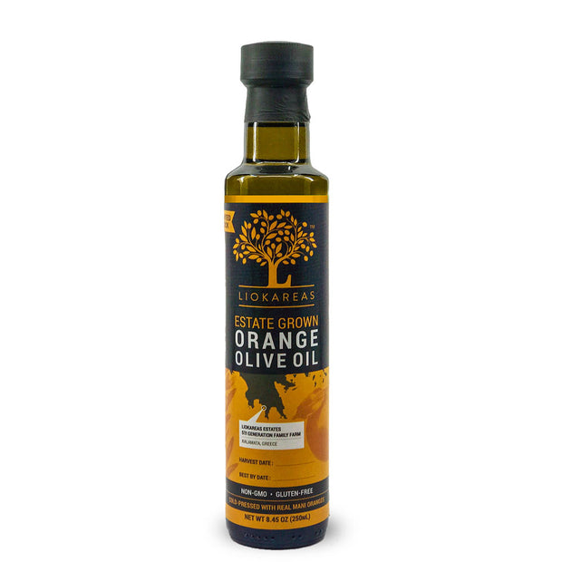 Estate Grown Greek Orange Olive Oil