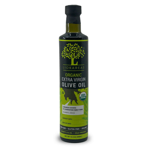 Organic Greek Extra Virgin Olive Oil