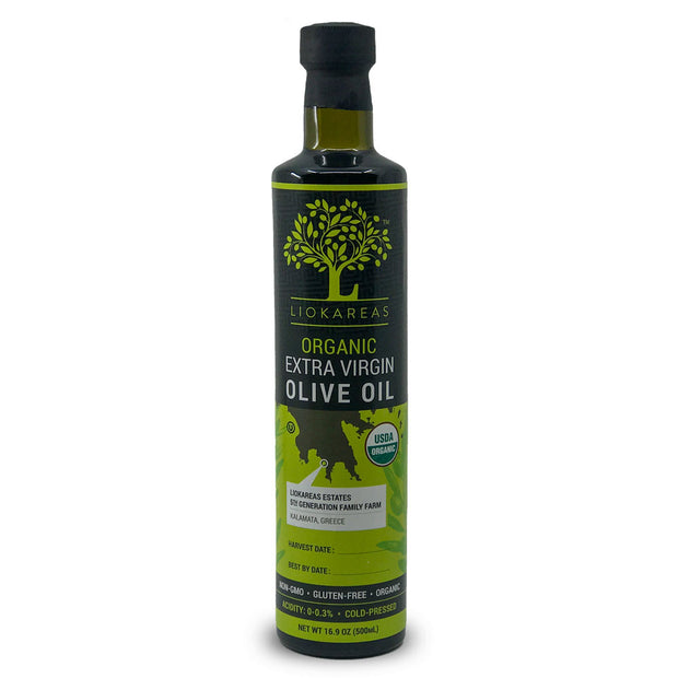 Organic Greek Extra Virgin Olive Oil - 500ml