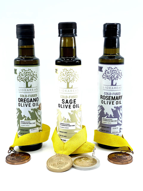 Spice Cold Fused Trio Variety Pack (Sage, Oregano, Rosemary)