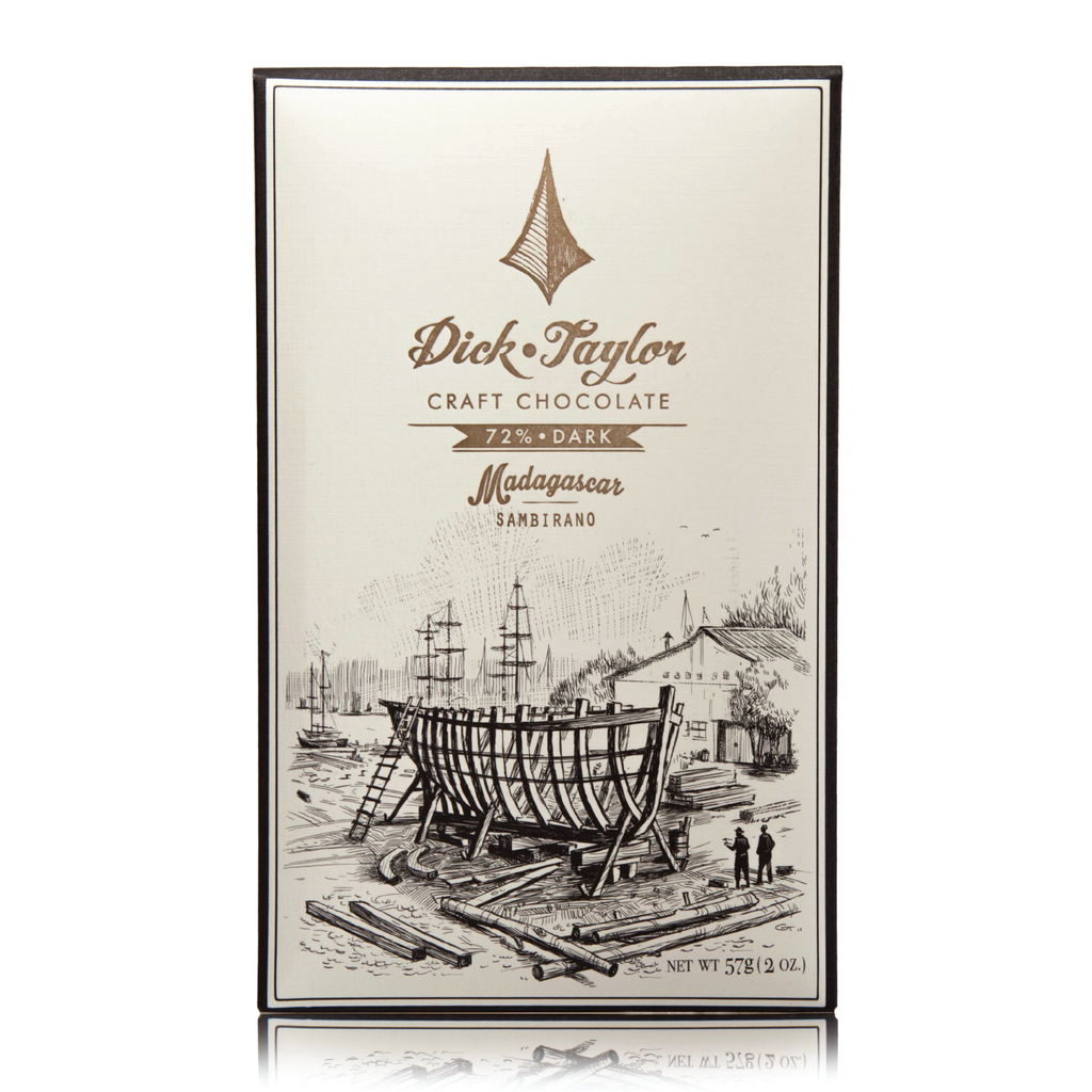 Dick Taylor Craft Chocolate - 72% Madagascar, Sambirano Dark Chocolate