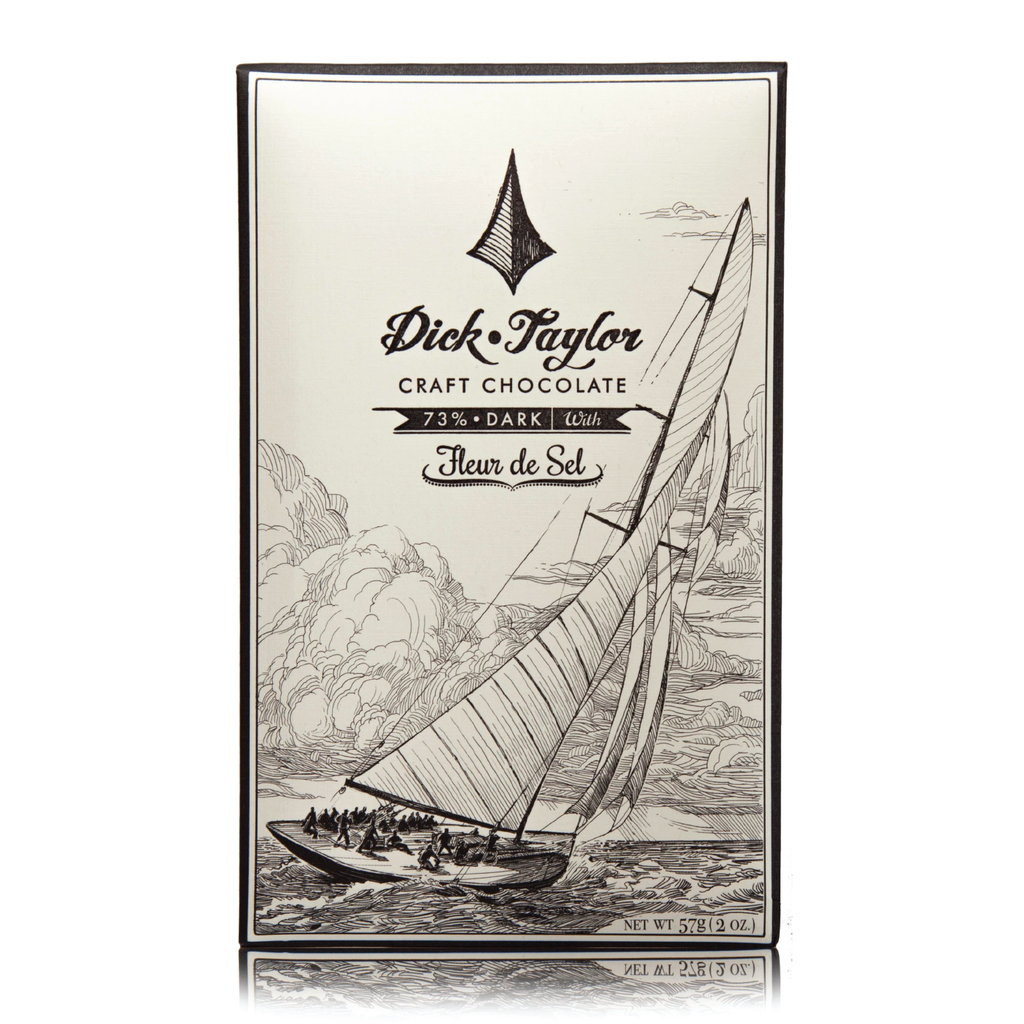 Dick Taylor Craft Chocolate - Fleur De Sel 73% Dark Chocolate