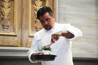 A Lifetime of Learning for Chef Aarón Sánchez