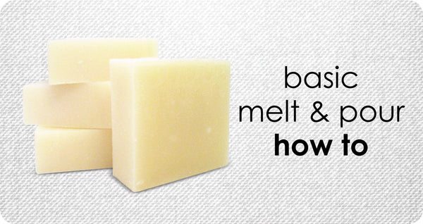 Melt & Pour Soap Making for Beginners - How to Make EASY 2 Ingredient Soap