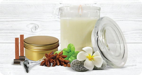 Soy Candle Making Guide using natural fragranced and essential oils