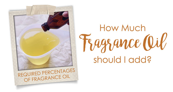 how much fragrance oil should i add to candles
