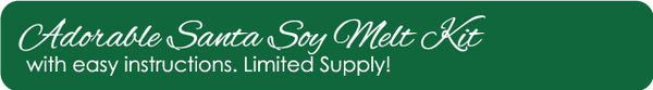soy melt kit, candle creations, christmas